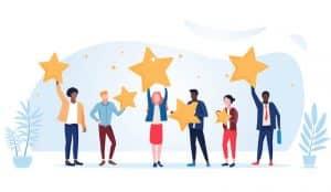 Customer feedback and reviews